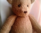 Handmade classic light brown teddy bear MADE TO ORDER