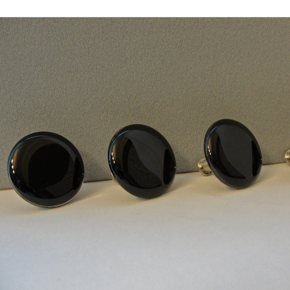 black glass cabinet handles 2