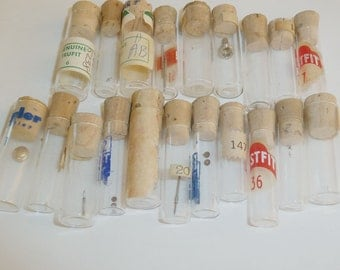 20 Watch Makers Bottles Vials