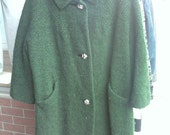 Women's 50's/60's knit coat