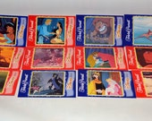 Disney Film Ephemera, Trivial Pursuit Cards for Crafting. Excellent Images of many Movies