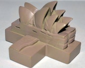 Sydney Opera House Australia Game Piece, From Cathedral World Game, Made of Polystone, A synthetic stone