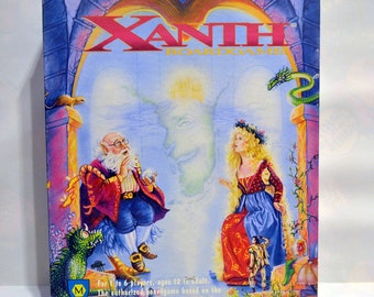 Mayfair Games Xanth, Piers Anthony Fantasy Board Game 1991 Fun Adventure