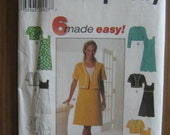 Simplicity 7511 Size P 12, 14, 16 Women's Dress Pattern