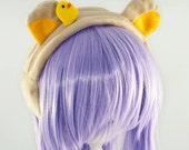 Rilakkuma Cute Furry Bear Ears Headband or Ear Warmers