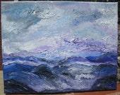 Surge - 11 x 14 - oil on canvas - Unframed