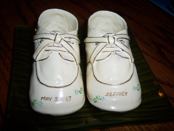 Porcelain Dipped Baby Shoes