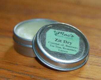 Mac's 100% Natural Zit Dry