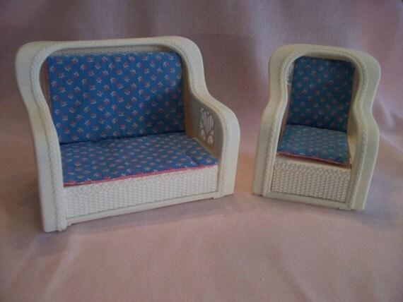 1983 Vintage Barbie Living Room Furniture By Edithmaesattic