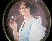 Vintage Coca-Cola Serving Tray  1973