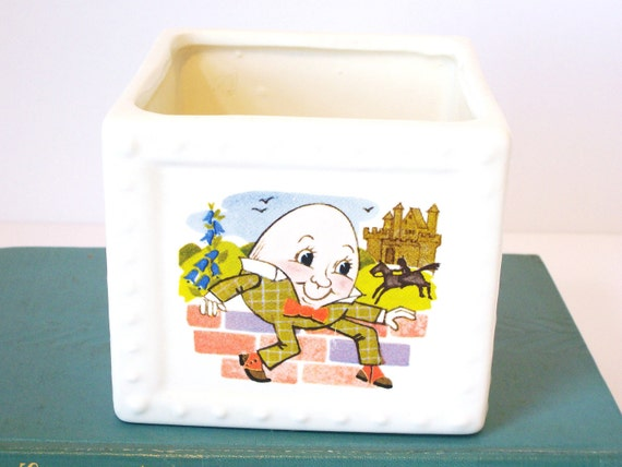 Nursery Rhymes Haeger USA Planter - Nursery Decor