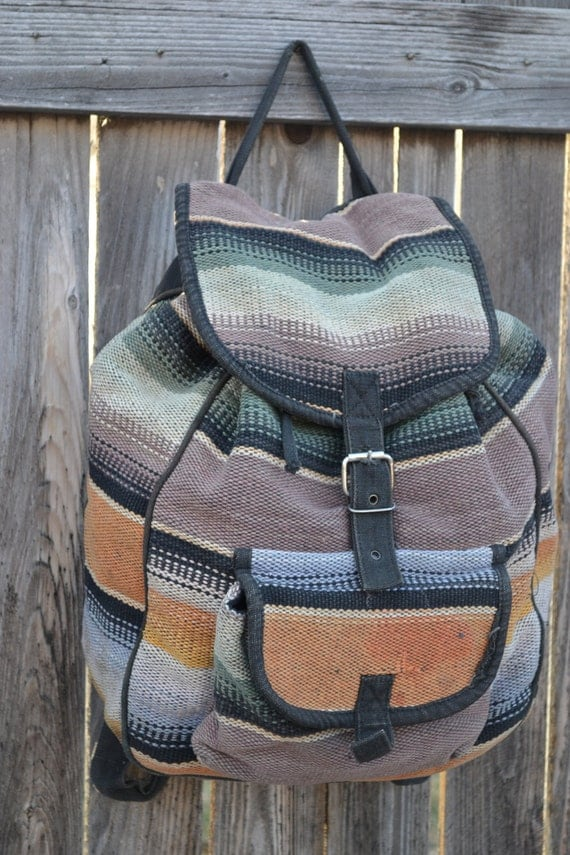 Vintage Southwest Design Backpack by Sun 'n' Sand