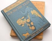 Antique School Books Vintage Early Readers