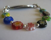A Kaleidoscope of Color Medical ID Replacement Bracelet