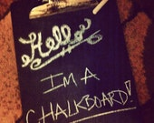 Vintage Chalkboard Clipboard