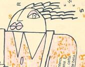 Original Serigraphy by Roberto Cancro