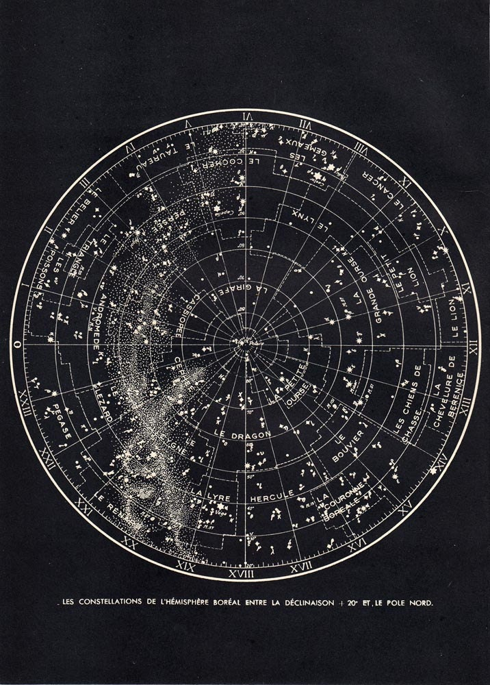 printable astronomy charts - photo #19