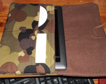 Nook Kindle Fire style soft padded cover