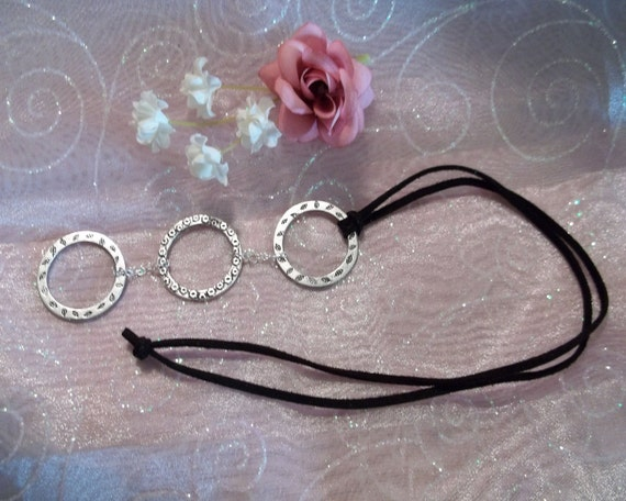 pewter rings pendant necklace