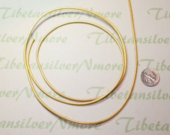 12 Ft. per pack 2.0mm Genuine Leather Cord Gold Coated.