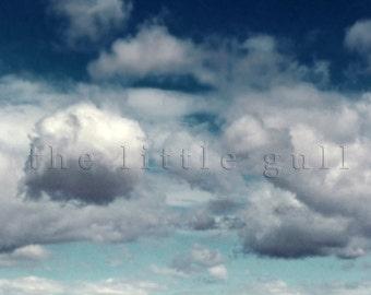 8 x 8 fine art print - Clearly Cumulus