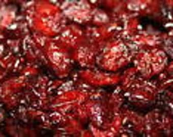 2 lbs Dried Cranberries, Great snack or Survival Food, Organic, Natural, No Additives Dried Fruit