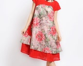 hibiscus cotton dress
