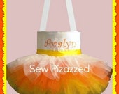 Candy Corn Trick-or-Treat Tutu Tote Bag