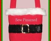 SALE Santa Claus Christmas Gift Bag Party Favor Gift Bag