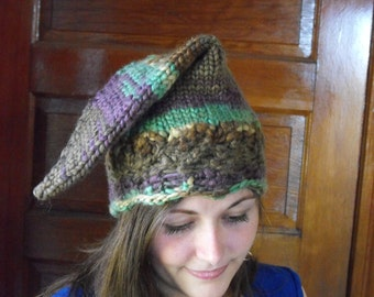 Kid's Rainbow Wizard Cap