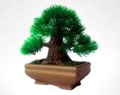 Oriental Artificial Bonsai Tree, Plant, Perfect for your home office etc