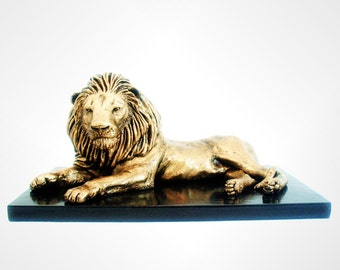Lion Animal Sculpture, African Safari, Animals