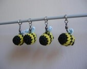 Let's knit - it'll bee fun - a set of 4 stitch markers