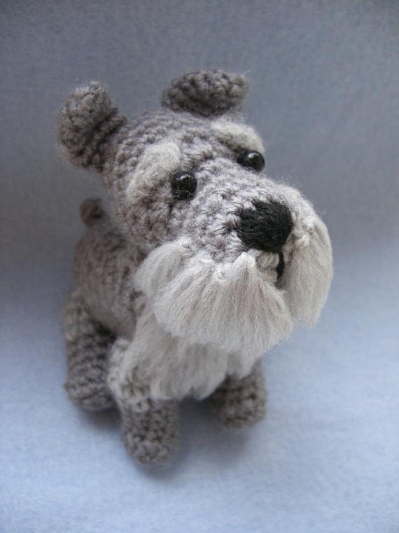 PATTERN ONLY Schnauzer Crochet PDF instructions