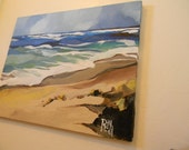 SALE Lydgate Beach Park, Kauai Beach PAINTING