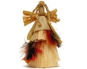 Primitive Doll Native American Angel - Corn Husk -  'DESERT FLOWER'