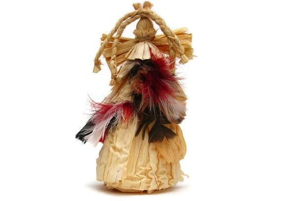 Native American Angel - Corn Husk -  'GRACEFUL DOE'