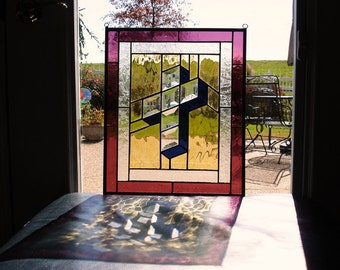 3-D Stained Glass Cross