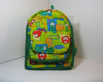 Veggie Tales Preschool Backpack