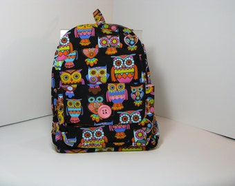 Wise Owls Preschool Backpack