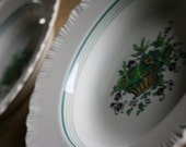 Pair of Shallow Antique Wedgwood Bowls (c.1890)
