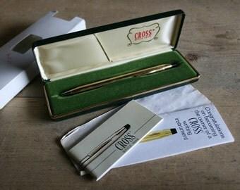 Vintage Gold CROSS Century Ball-Point Pen - Lifetime Guarantee