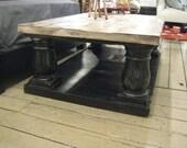 Postobello - Rectangle Recycled Douglas Fir Custom Table (Los Angeles)