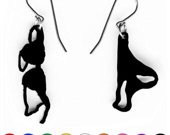 earrings panties and bra