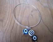 Evil Eye Memory Charm Bracelet