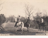 Vintage/Antique photo of people and horses