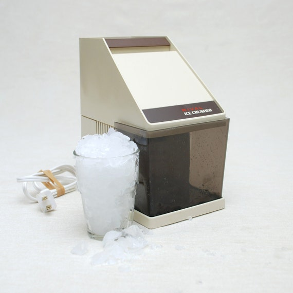 FINAL SALE - Vintage Electronic Ice Crusher - Rival