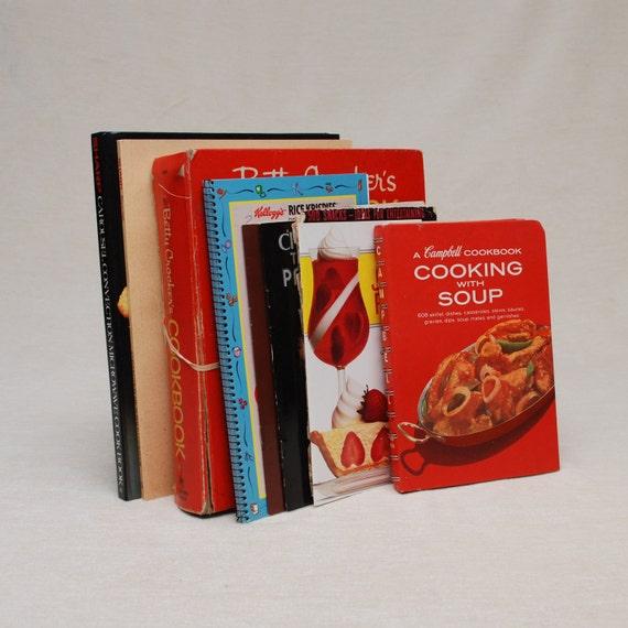 Final Sale-Vintage Brand Name Cookbooks - Betty Crocker, Campbell, etc.