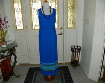 Floor Length Casual Dress,