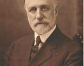 vintage photo beard white : doctor lawyer fancypants suit tie mustache grandpa